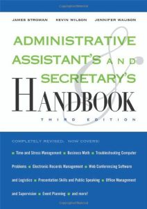 Administrative Assistant's and Secretary's Handbook book summary