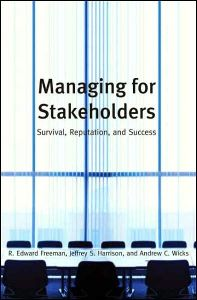 Managing for Stakeholders book summary