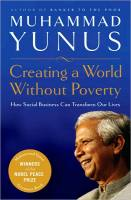 Creating a World Without Poverty book summary