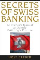 Secrets of Swiss Banking book summary