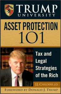 Trump University Asset Protection 101 book summary