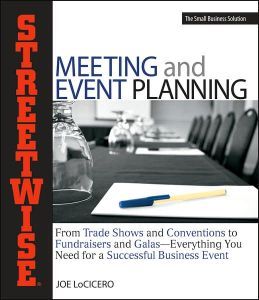 Streetwise Meeting and Event Planning book summary