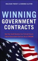 Winning Government Contracts book summary