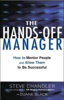 The Hands-Off Manager book summary