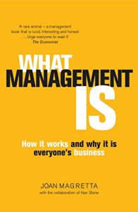 What Management Is book summary