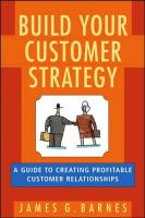 Build Your Customer Strategy book summary