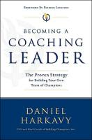 Becoming a Coaching Leader book summary
