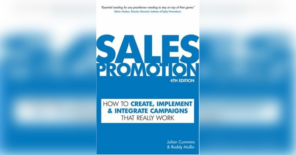 Sales Promotion Free Summary by Roddy Mullin and Julian Cummins