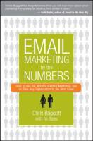 Email Marketing by the Numbers book summary