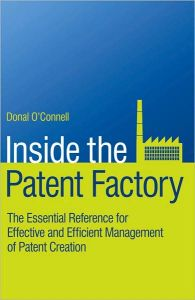 Inside the Patent Factory book summary
