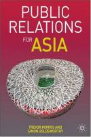 Public Relations for Asia book summary