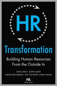 HR Transformation book summary