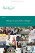 15 Ways to Rethink the Federal Budget