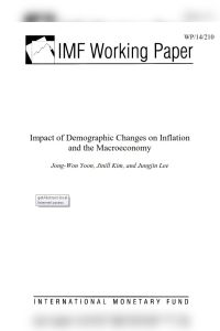 Impact of Demographic Changes on Inflation and the Macroeconomy summary