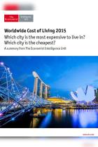 Worldwide Cost of Living 2015