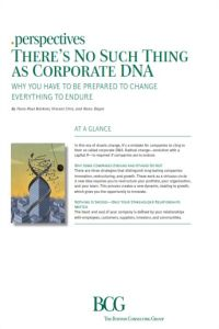 There's No Such Thing as Corporate DNA summary