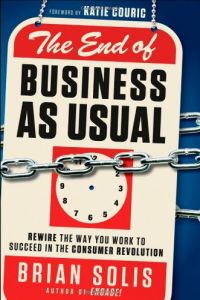 The End of Business as Usual book summary