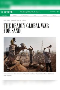 The Deadly Global War for Sand summary
