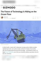 The Future of Technology Is Hiding on the Ocean Floor