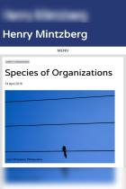 Species of Organizations