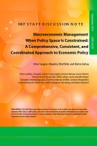 Macroeconomic Management When Policy Space Is Constrained