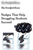 Nudges That Help Struggling Students Succeed