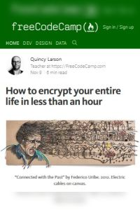 How to Encrypt Your Entire Life in Less than an Hour summary