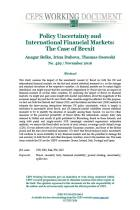 Policy Uncertainty and International Financial Markets