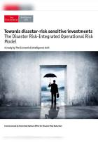 Towards Disaster-Risk Sensitive Investments