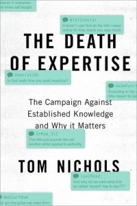 The Death of Expertise book summary