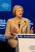 Theresa May at Davos 2017