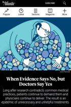 When Evidence Says No, but Doctors Say Yes