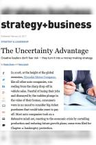 The Uncertainty Advantage
