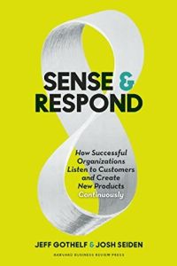 Sense and Respond book summary
