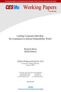 Curbing Corporate Debt Bias summary