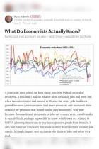 What Do Economists Actually Know?