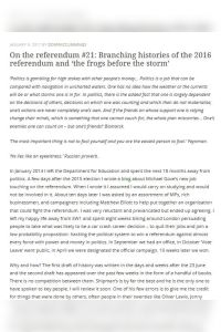 On the Referendum #21 summary