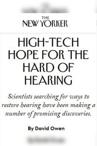 High-Tech Hope for the Hard of Hearing summary