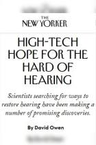 High-Tech Hope for the Hard of Hearing