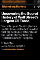 Uncovering the Secret History of Wall Street's Largest Oil Trade