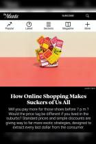 How Online Shopping Makes Suckers of Us All
