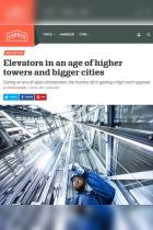 Elevators in an Age of Higher Towers and Bigger Cities
