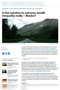 Is the Solution to Extreme Wealth Inequality Really – Alaska? summary