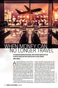 When Money Can No Longer Travel summary