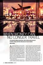 When Money Can No Longer Travel