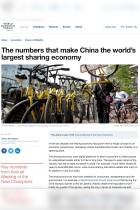 The Numbers That Make China the World's Largest Sharing Economy