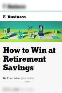 How to Win at Retirement Savings summary