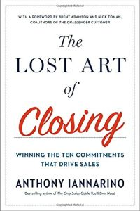 The Lost Art of Closing book summary