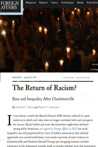 The Return of Racism? summary