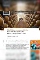 How Blockchain Could Shape International Trade